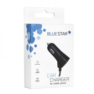 Autonabíjačka BlueStar s pripojeným naťahovacím káblom Type C 2A + 1A USB port
