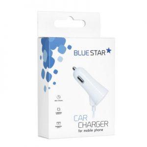 Autonabíjačka BlueStar pre iPhone 5/6/6s/7/8/X s pripojeným naťahovacím káblom + 1A USB port
