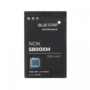 Batéria BlueStar Nokia 5800XM/C3-00/N900/X6/5230/Lumia 520/525 BL-5J 1350 mAh