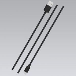 STURDO dátový kábel micro USB čierny