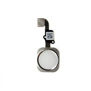 Flex Home button iPhone 6/6 Plus bielo-strieborný