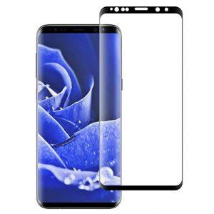 KINGMAS ochranné tvrdené sklo 3D Fullcover – SAMSUNG Galaxy S9 čierne GA00002E