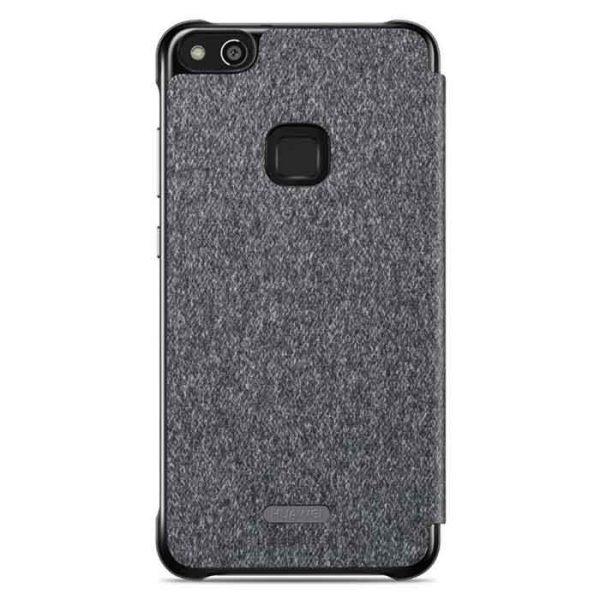 Knižka ORIGINÁL Huawei P10 Lite – Smart View Flip Cover šedá