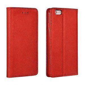 Knižka TEL1 Smart Book MAGNET – Xiaomi RedMi Note 7 červená