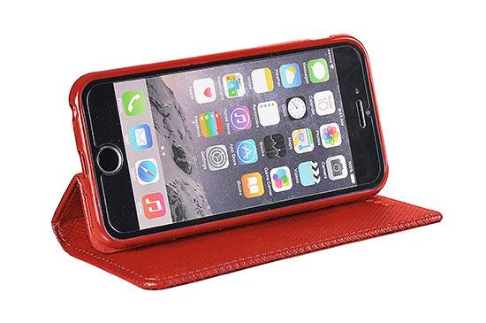 Knižka TEL1 Smart Book MAGNET – SAMSUNG Galaxy A50 červená