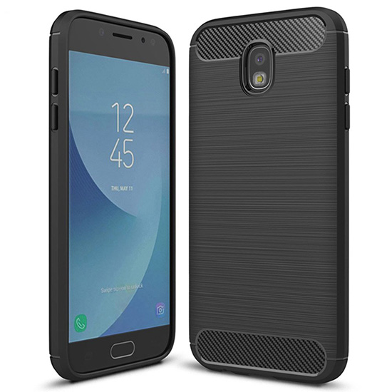 Puzdro Forcell CARBON Samsung Galaxy A50 čierne