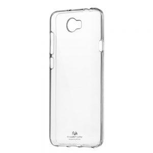 Púzdro MERCURY Jelly SAMSUNG Galaxy A50 transparentné