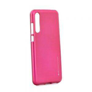 Puzdro MERCURY i-Jelly HUAWEI P20 ružové