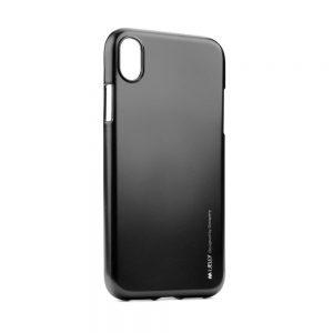 Púzdro MERCURY i-Jelly iPhone XR čierne
