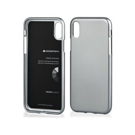 Púzdro MERCURY i-Jelly iPhone XR šedé