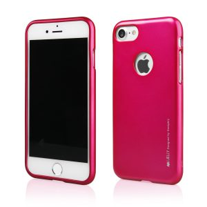 Púzdro MERCURY i-Jelly iPhone 7/8 ružové