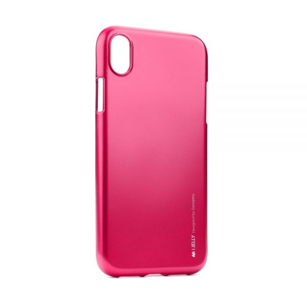 Púzdro MERCURY i-Jelly iPhone XR ružové