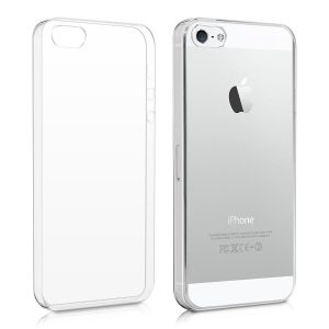 Púzdro Forcell Ultra-Slim 0,3mm – iPhone 5/5S/SE transparentné