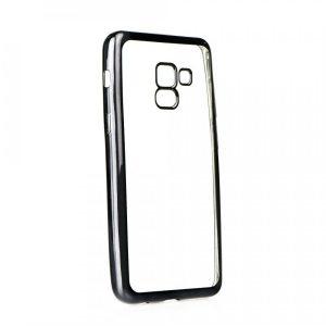 Púzdro Back Case SAMSUNG Galaxy A5 2017 transparentné s čiernym okrajom