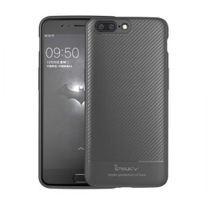Púzdro Ipaky Etui Carbon iPhone X/XS šedé
