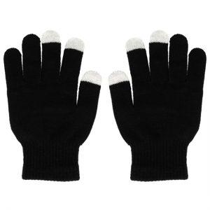 Dotykové rukavice čierne