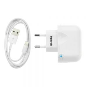 Sieťová nabíjačka BlueStar iPhone 5/6//7/8/X s odpájacím USB káblom