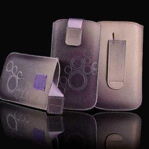 Nasúvacie puzdro TEL1 DEKO 3 (R10) fialová