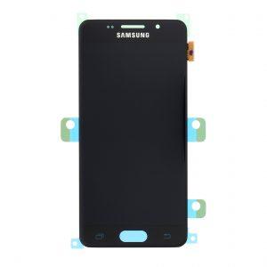Samsung Galaxy A3 2016 (A310) – Originál LCD displej a dotyková plocha čierny (Service Pack)
