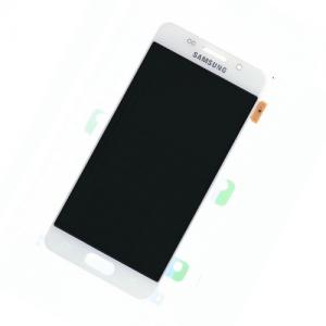 Samsung Galaxy A3 2016 (A310) – Originál LCD displej a dotyková plocha biely (Service Pack)