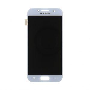 Samsung Galaxy A3 2017 (A320) – Originál LCD displej a dotyková plocha modrý (Service Pack)