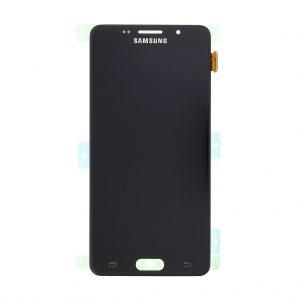 Samsung Galaxy A5 2016 (A510) – Originál LCD displej a dotyková plocha čierny (Service Pack)