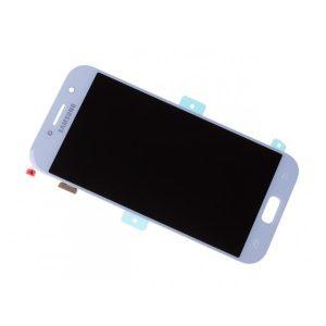 Samsung Galaxy A5 2017 (A520) – Originál LCD displej a dotyková plocha modrý (Service Pack)