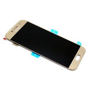 Samsung Galaxy A5 2017 (A520) – Originál LCD displej a dotyková plocha zlatý (Service Pack)