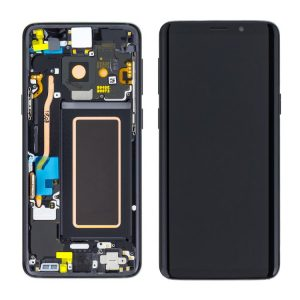 Samsung Galaxy S9 Plus (G965F) – Originál LCD displej a dotyková plocha s rámom čierny (Service Pack)