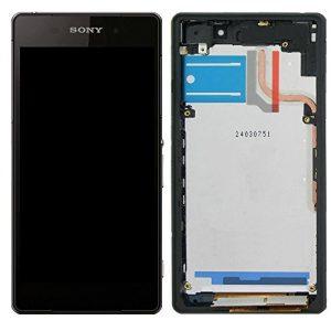Sony Xperia Z2 (D6503) – Originál LCD displej a dotyková plocha s rámom čierny