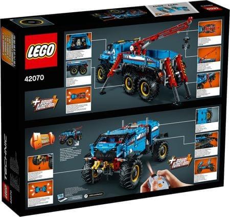 LEGO Technic 42070 RC 6×6 Terénny odťahovač