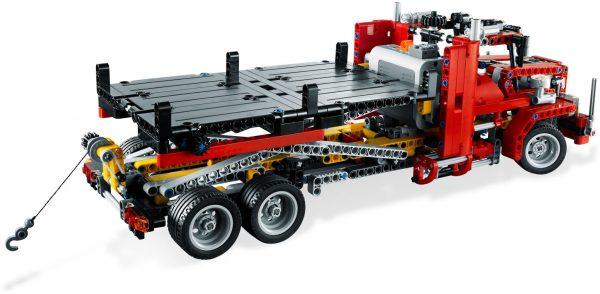 LEGO Technic 8109 Auto s plochou korbou