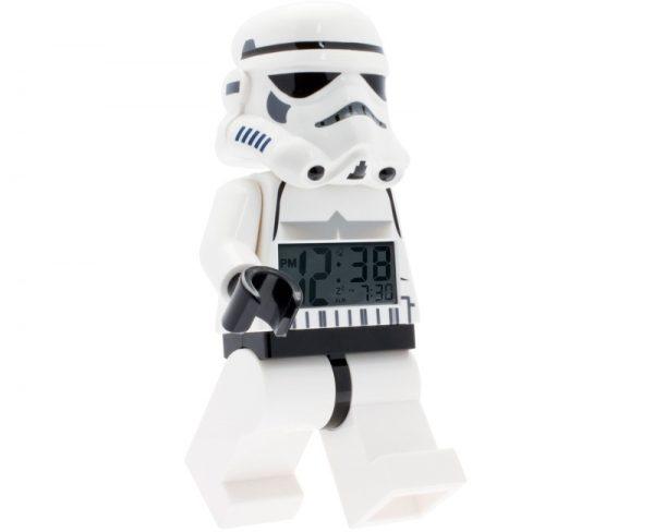 LEGO Star Wars 9002137 Stormtrooper – hodiny s budíkom