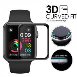 KINGMAS ochranné tvrdené sklo 3D Apple Watch Series 1/2/3 – 42mm GA00005E