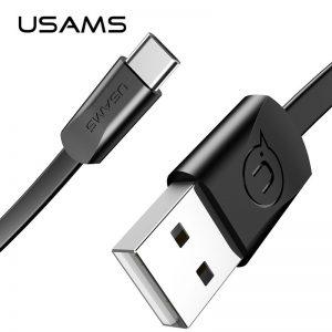 Dátový kábel USAMS SJ200 Type C 1,2m čierny