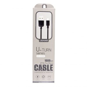 Dátový kábel USAMS SJ098 micro USB 1m čierny