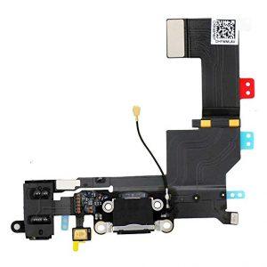 Flex nabíjania iPhone SE čierny