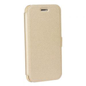 Knižka Book Pocket – Huawei P9 Lite Mini zlatá