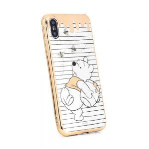 Púzdro Disney Samsung Galaxy J6 2018 Macko Pú 010