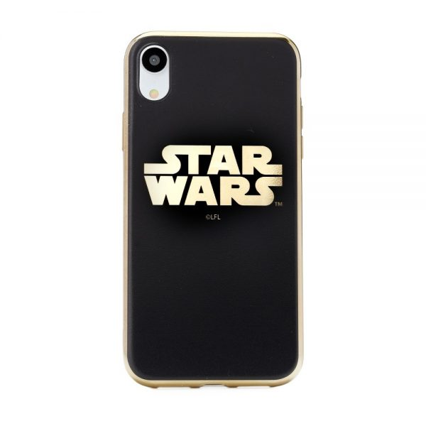 Puzdro STAR WARS iPhone X/XS Luxury Chrome 002