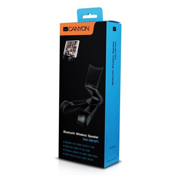 Bluetooth reproduktor so stojanom Canyon CNS-HBTSP1 čierny