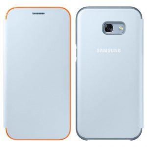 Knižka Samsung Galaxy A3 2017 Neon Flip EF-FA320PLE modrá