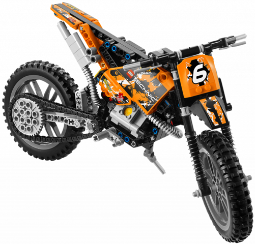 LEGO Technic 42007 Motokrosová motorka