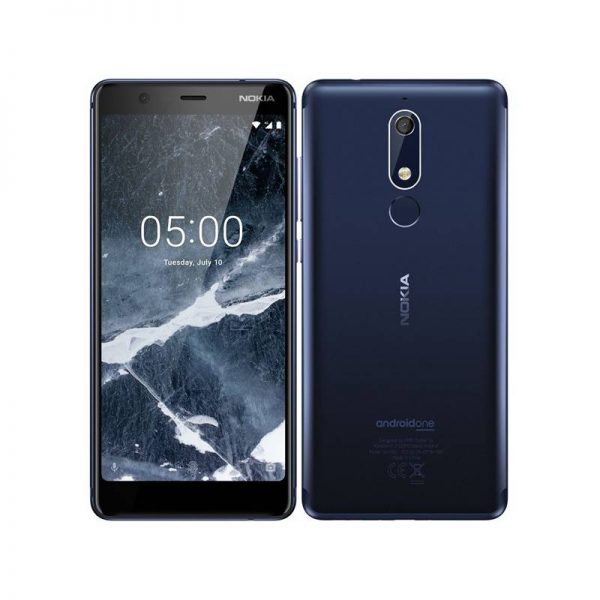 NOKIA 5.1 16GB DUAL SIM MODRÁ (TA-1075 DS)