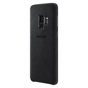 Púzdro Samsung EF-XG960AB Alcantara Cover Galaxy S9 čierne