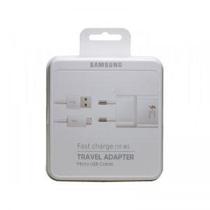 Sieťová nabíjačka Samsung Micro USB EP-TA20EWE biela