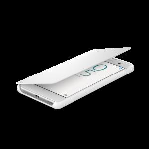 Púzdro Sony SCR52 Style Cover Flip Xperia X biele