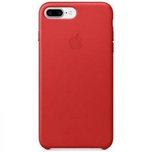 Púzdro Apple iPhone 7/8 Plus Leather Case – červené