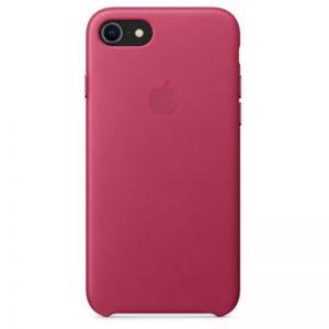 Originálne kožené puzdro pre iPhone 7/8 – Pink Fuchsia