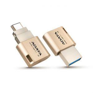 USB A-DATA OTG – Type-C Flash Drive 32GB zlatý